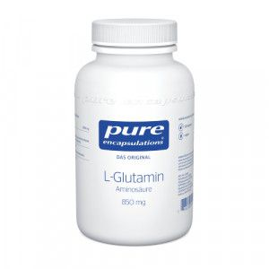 PURE ENCAPSULATIONS L-Glutamin 850 mg Kapseln